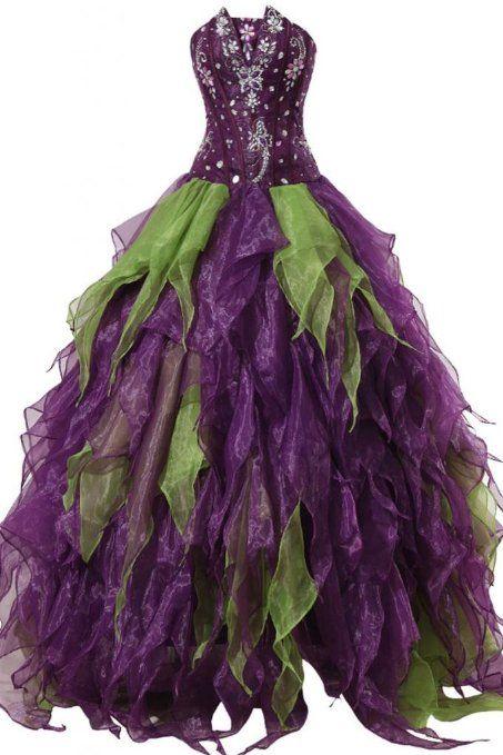 Purple Evening Dresses for Christmas