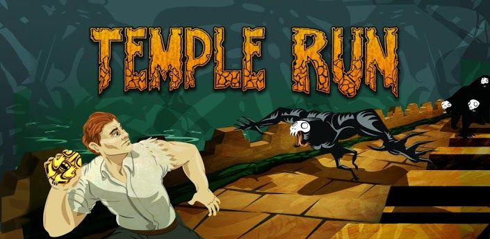 The addictive mega-hit Temple Run is now out for Android! All your friends are playing it - can you beat their high scores?!