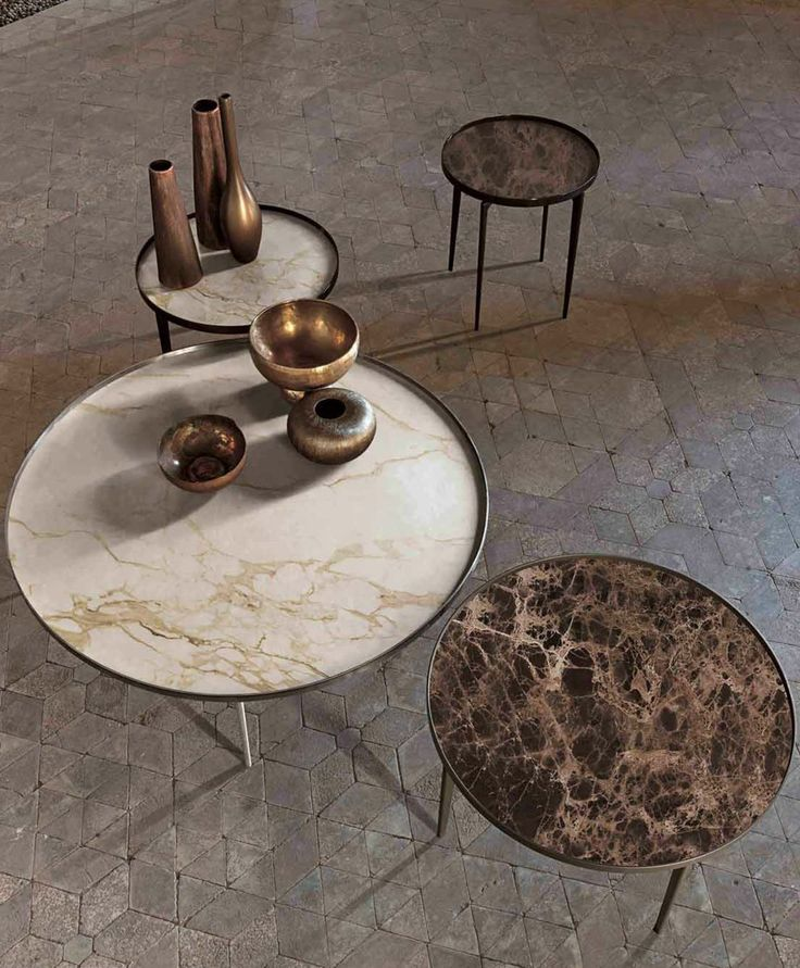 @alivarsrl Decorating with marble, See more Marble inspirations at http://www.brabbu.com/en/inspiration-and-ideas/