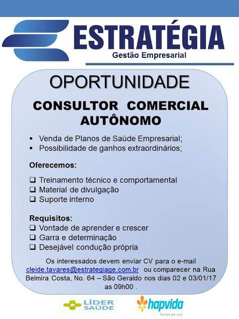 RH Manaus - Agência de Vagas: CONSULTOR DE VENDAS AUTÔNOMO