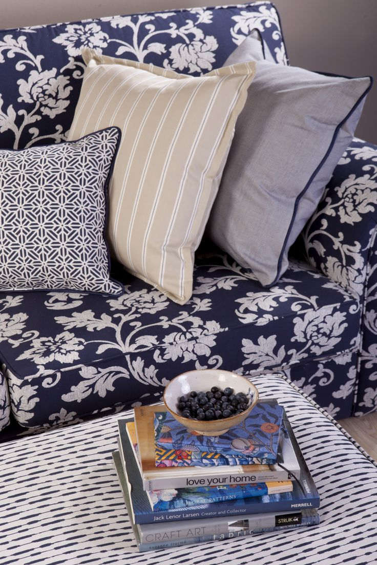 Blue Horizon, Collection of Furnishing Fabrics by Svenmill Ltd
