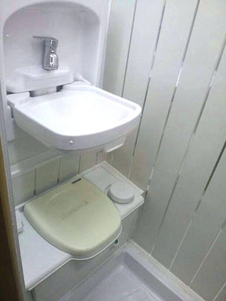 20 Best Rv Badezimmer Ideen Fur Gemutliche Outdoor Urlaub Badezimmer Klein Camper Innen Umgebaute Wohnmobile