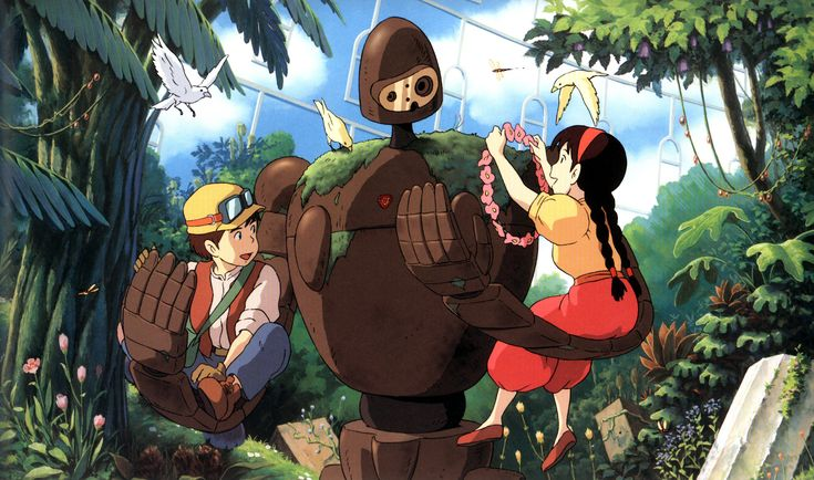 picture of castle in the sky robot | Miyazaki Month: Castle in the Sky