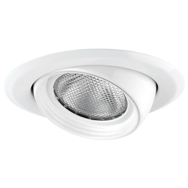 Globe Lighting 9241401 5 Inch Remodel Recessed Eyeball Baffle Lighting Kit in White Finish