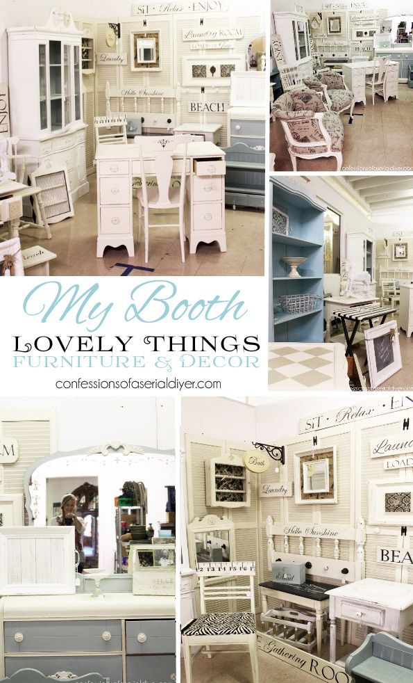 My Booth Space {Virginia Beach Antique Mall}