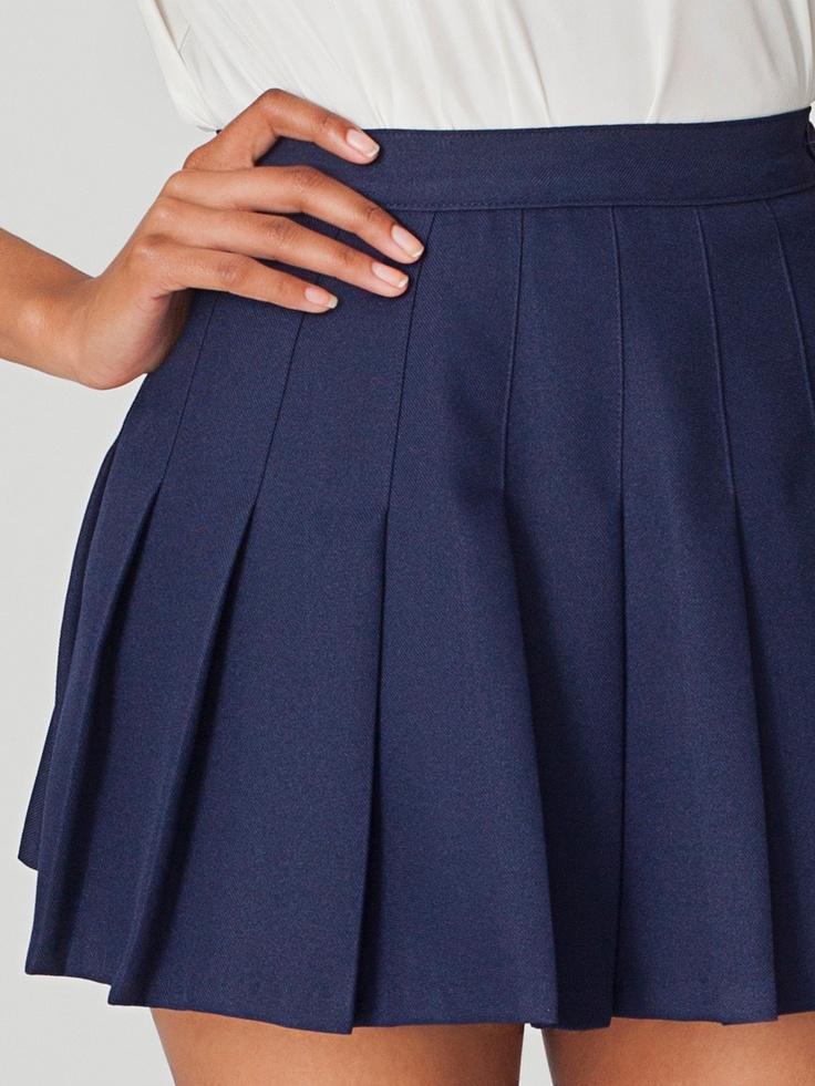 Tennis Skirt   Skirts   New & Now's Women   American Apparel