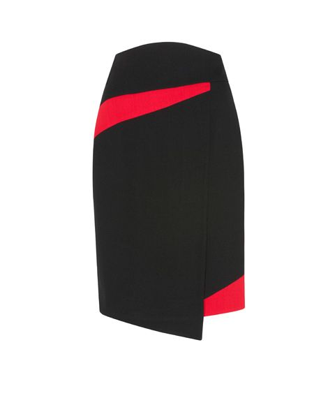 CUE - Colour Splice Pencil Skirt