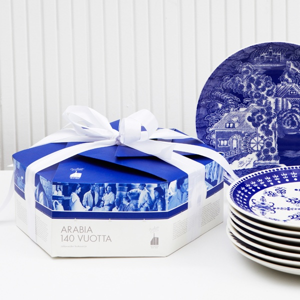 Arabia 140 Year Collection Packaging