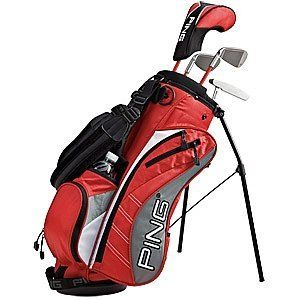 PING Moxie K Junior Golf Club Set Ages 6-7 by Ping. $189.00. PING performance and innovation are evident in our engineering of three distinct Moxie junior golf sets. Each is suited to different ages and heights to assure that younger players are properly fit and equipped, allowing them to play their best and develop an early love for the game.