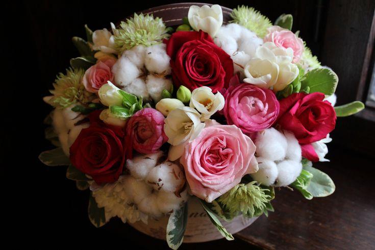 Cutie cu flori #flowers #box #flowersbox #flowersinabox #gift #sayitwithflowers #madewithjoy #madewithlove #paulamoldovan #livadacuvisini #flori #evenimente #candybar #bucuresti ##bucharest #florist  #pink # #roses  #white #eustoma  #cotton #bumbac #cutie #flori #cutiecuflori #floriincutie #cutieflori  #fuchsia #ranunculus
