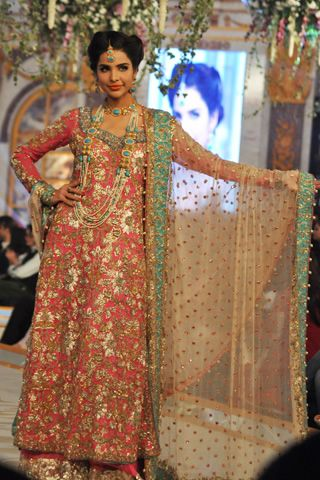 Erum Khan Collection at Pantene Bridal Couture Week 2013 Day 2