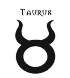 Or just this on my ankle but it kind of looks like a lil devil symbol: Taurus