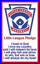 little league pledge | little_league_pledge