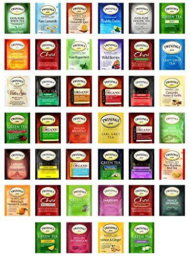 Custom VarieTea Twinings Tea Bags Assortment Includes Mints (40 Count) - http://teacoffeestore.com/custom-varietea-twinings-tea-bags-assortment-includes-mints-40-count/