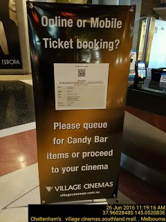 Online or mobile booking system reduce number of cinema ticket officers jobs   Candy Cinema Melbourne Queue Retail