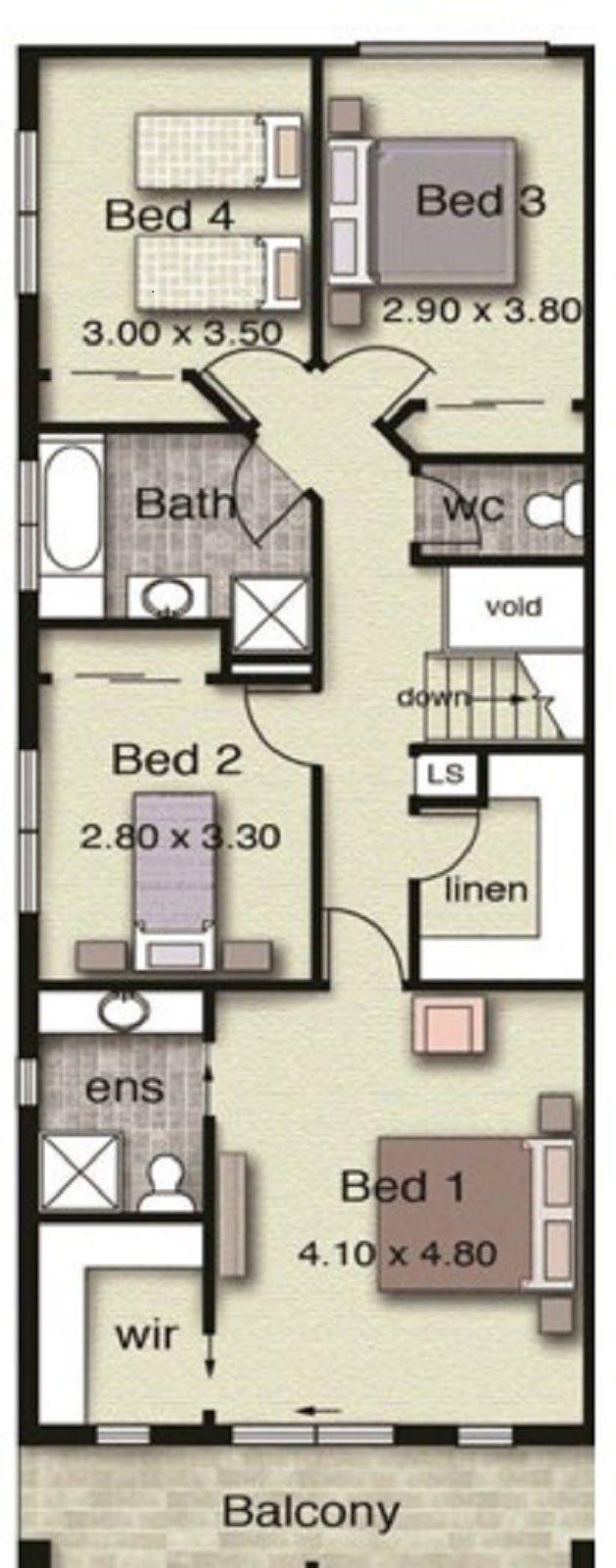 1000 ideas about casas dos pisos on pinterest casa de - Planos de casas grandes ...