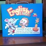 "Terbaru, sebuah metode untuk mengajarkan anak-anak bahasa Inggris, dengan READ PEN KIDS ""ENGLISH I LIKE"". Sebuah pena dan satu paket buku. Tinggal tunjukan mata pena ke gambar atau ke cerita maka akan berbunyi sesuai gambar dan cerita tersebuat dalam bahasa Inggris. Buku dilengkapi ejaan bahasa Inggris dan pen bersuara sesuai pengucapan Inggris sehingga anak -anak bisa pandai baca dan pengucapan Inggris. harga tidak mahal -murah  08562572580"