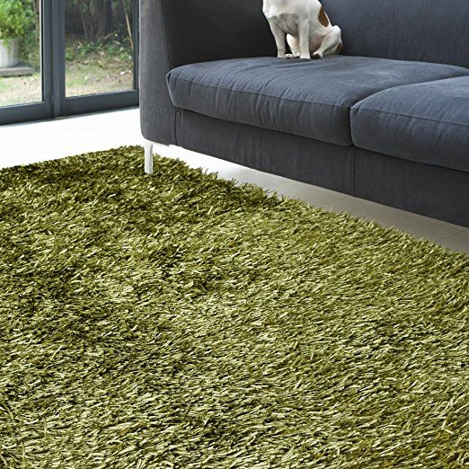 Amazon.com: Super soft, bright and comfortable shag area rug 9ft0in X 12ft0in in WHITE: Kitchen & Dining