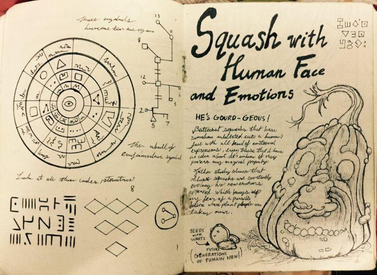 Gravity Falls Journal 3 Replica - Butternut Squash by leoflynn on DeviantArt