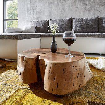 Die Schönsten Möbel Online Kaufen. Moderne CouchtischeBaumstamm  CouchtischCouchtisch Rund HolzNaturWohnzimmertisch ...