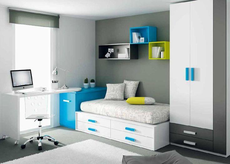 Consejos antes de pintar una habitación juvenil - infantil   Mueble Juvenil