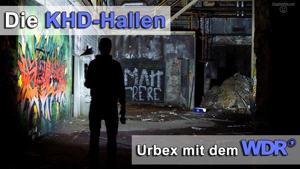 Lost Places: Die verlassenen KHD-Hallen in Köln. Mit dem WDR!  Die ganze Story & die Bilder: http://www.sagtmirnix.net/Blog/die-khd-hallen-in-koeln-unterwegs-mit-dem-wdr-urban-exploration