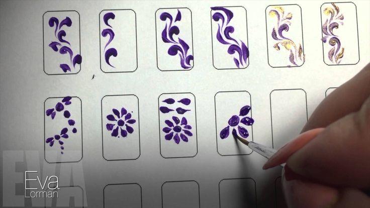 Роспись ногтей! Ромашка! Урок 7! Все Видео уроки!