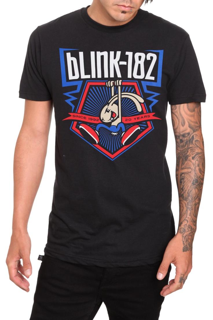 Black keys t shirt etsy - Blink 182 20 Years Slim Fit T Shirt