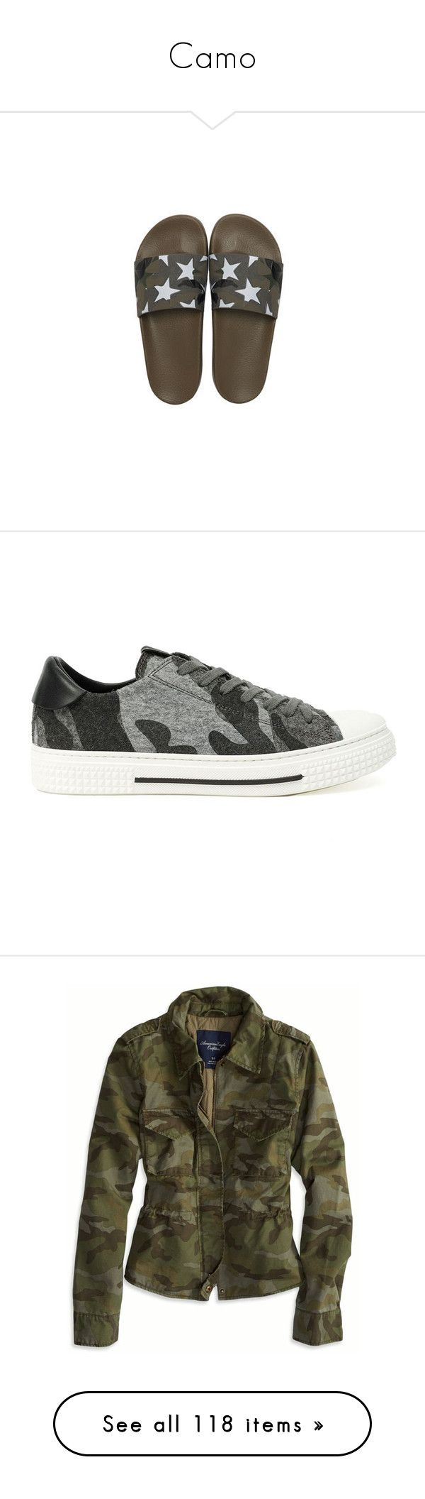 """Camo"" by missy-smallen ❤ liked on Polyvore featuring men's fashion, men's shoes, men's sandals, mens rubber shoes, valentino mens shoes, mens leopard print shoes, shoes, sneakers, grey and gray shoes"