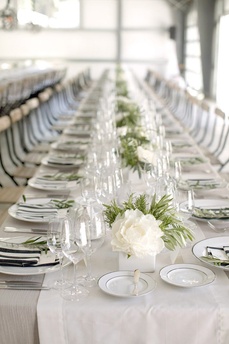 1000 ideas about elegant table settings on pinterest for Cheap elegant wedding decorations