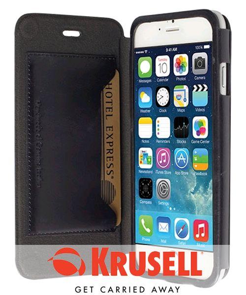 Krusell Kiruna Flip Case Apple iPhone 6 Zwart