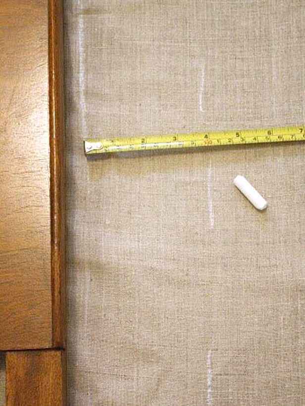 Make an Easy Headboard Slipcover : Rooms : Home & Garden Television