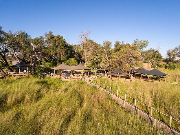 """Little Vumbura is a magical camp, adventurous and intimate – we like to think of it in a """"Swiss Family Robinson"""" kind of way."""