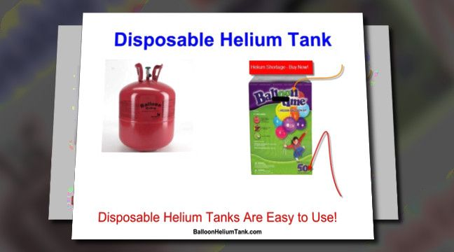 #Disposable Helium Tank# Click to watch the video! Disposable helium tanks from $30.00.