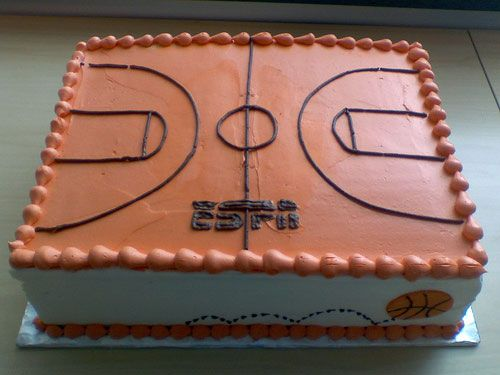 Basketball Court Cake Images : 25+ best ideas about Basketball cakes on Pinterest ...