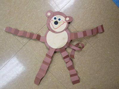 pinterest/preschool zoo | Everyone loves monkeys so our very first zoo art project had to be a ...