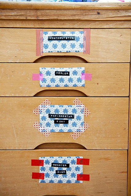 washi tape Labels
