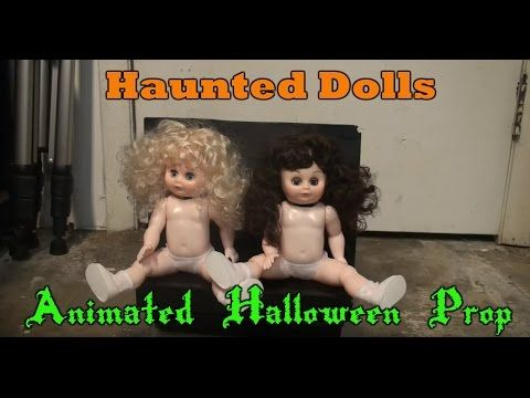 haunted dolls animated halloween prop super cheap and easy youtube - How To Make Animated Halloween Props