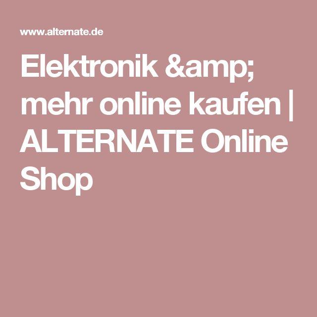 Elektronik & mehr online kaufen | ALTERNATE Online Shop