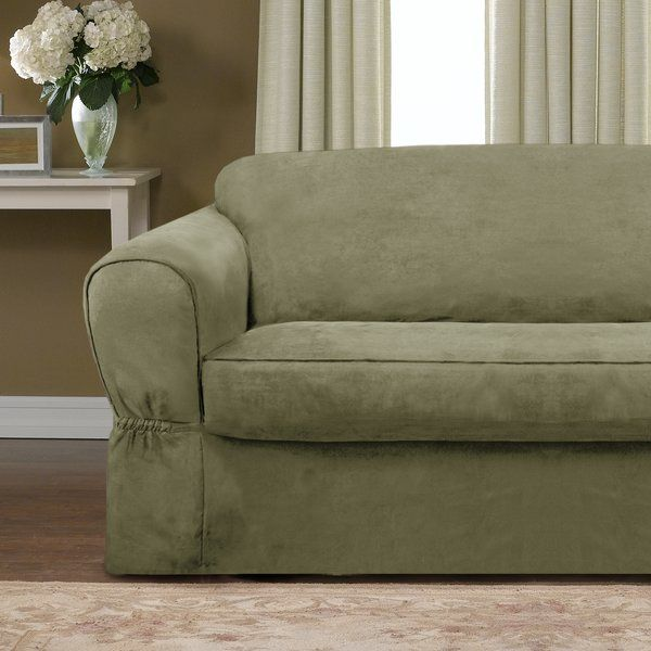Bearup Barras Box Cushion Loveseat Slipcover Slipcovered Sofa Cushions On Sofa Loveseat Slipcovers