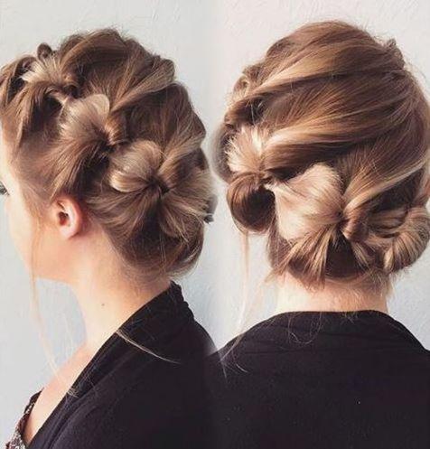 60 idées créatives Updo pour cheveux courts