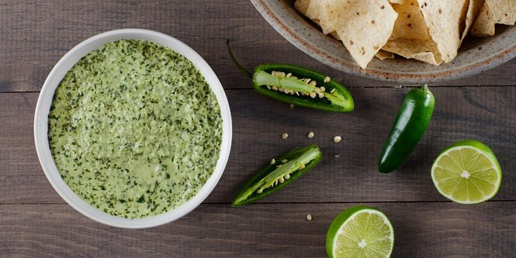 It's creamy, it's spicy, it's tangy, it's that green sauce.