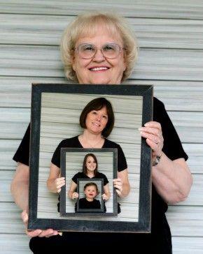 Leuk zo 4 generaties weergeven op de foto
