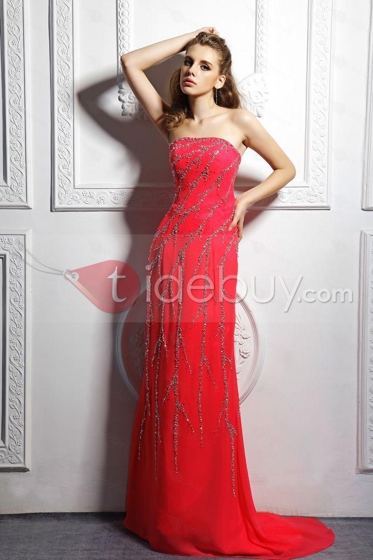 Aライン床まで届く長さストラップレストレーンチュールイブニングページェントドレス