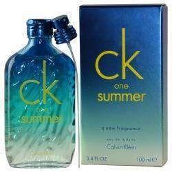 Ck One Summer By Calvin Klein Edt Spray 3.4 Oz (limited Edition 2015)