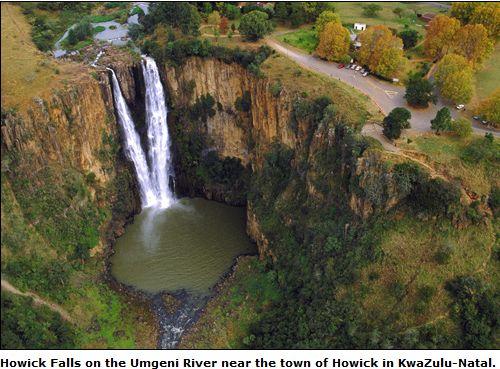 Howick Fall - Umgeni KZN ...