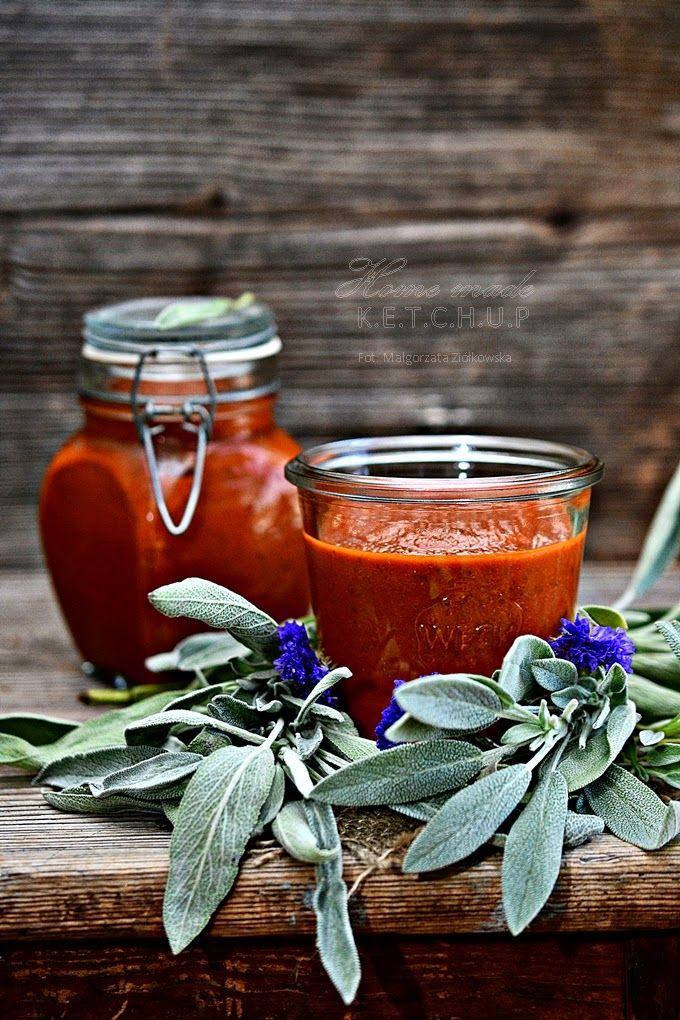 Smaki Alzacji : Domowy ketchup z szałwią i topinamburem