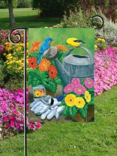 17 Best images about GARDEN FLAGS on Pinterest