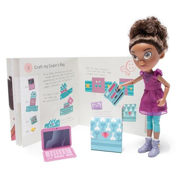 Ruby Rails Skydive Action Figure (Ages 4+)