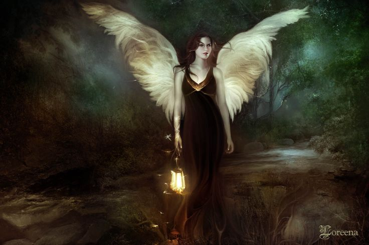 The last angel | zoom | digart.pl